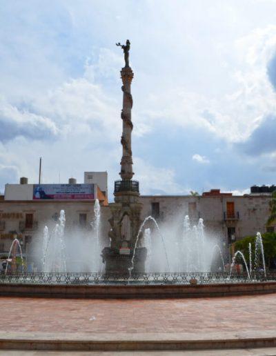 plaza y fuente san juan